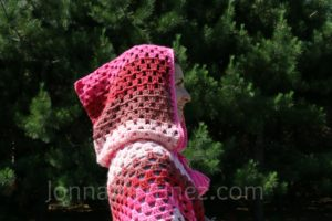How To Add A Crochet Hood On A Poncho