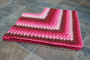 Raspberry Smoothie Crochet Poncho Tutorial