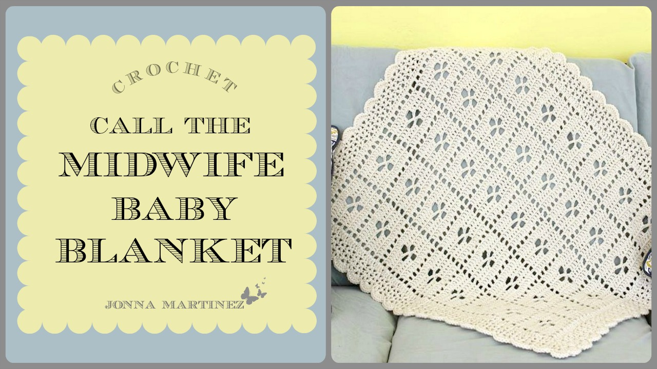 picture relating to Virus Blanket Pattern Free Printable named Contact The Midwife Influenced Blanket Jonna Martinez