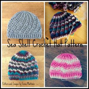 Crochet Seashell Hat