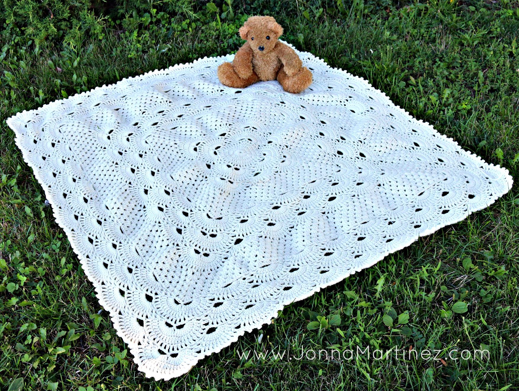 Grandma's German Shells Blanket Pattern