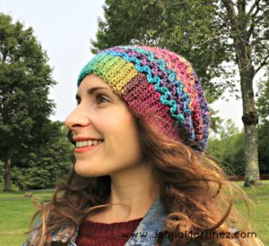 A Simple Slouchy Hat