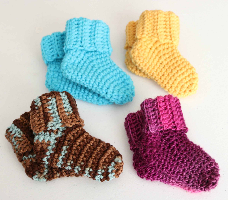 Fast And Easy Baby Socks Jonna Martinez