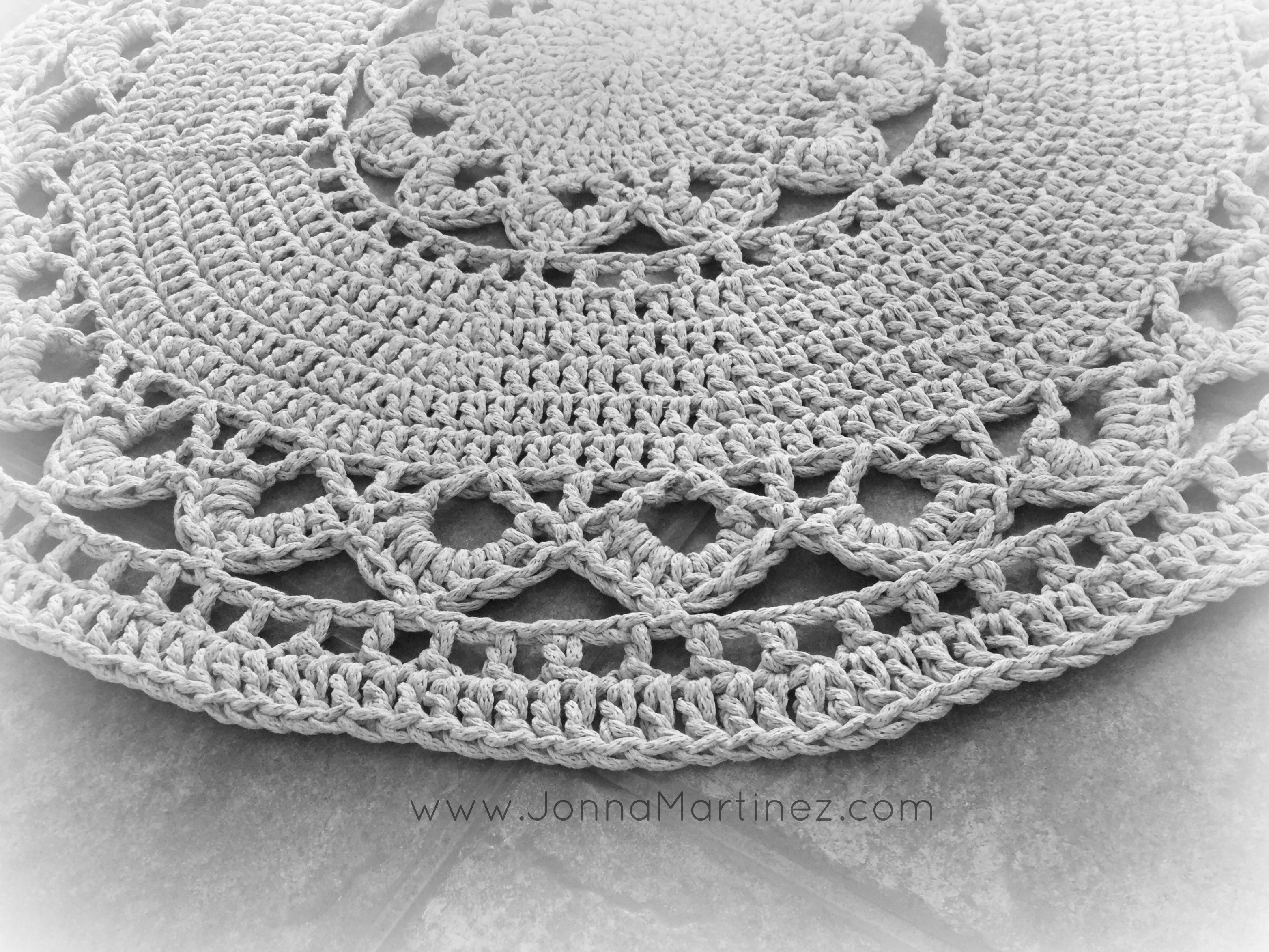 Easy Crochet Area Rug
