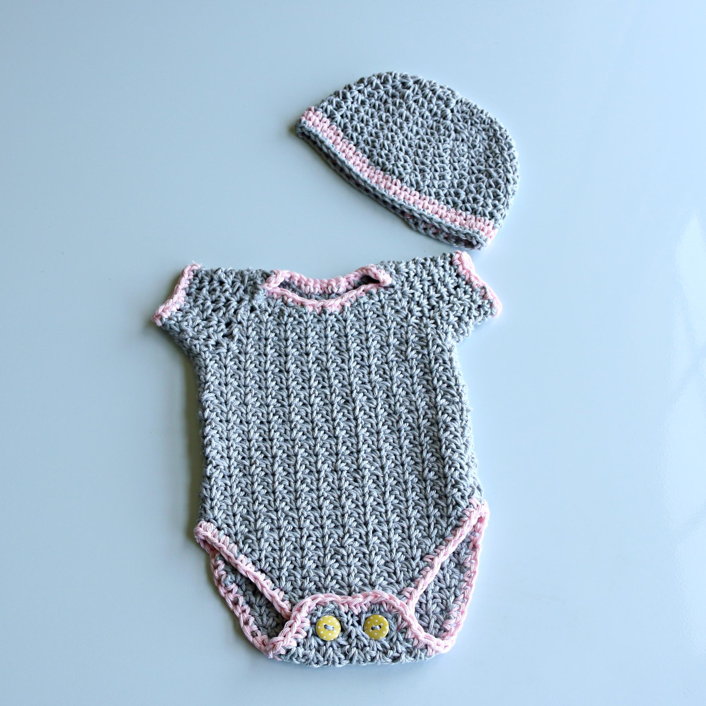 Crochet Baby Onesie/Romper