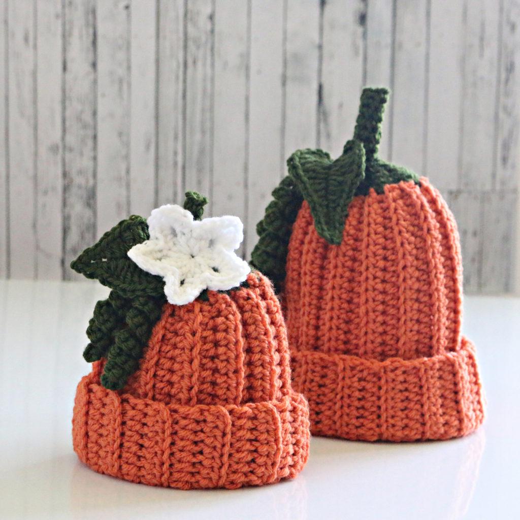 Flowered Pumpkin Hat Pattern Jonna Martinez