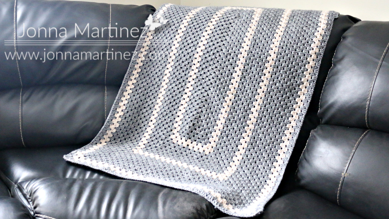 How To Crochet The Cozy Rectangles Blanket