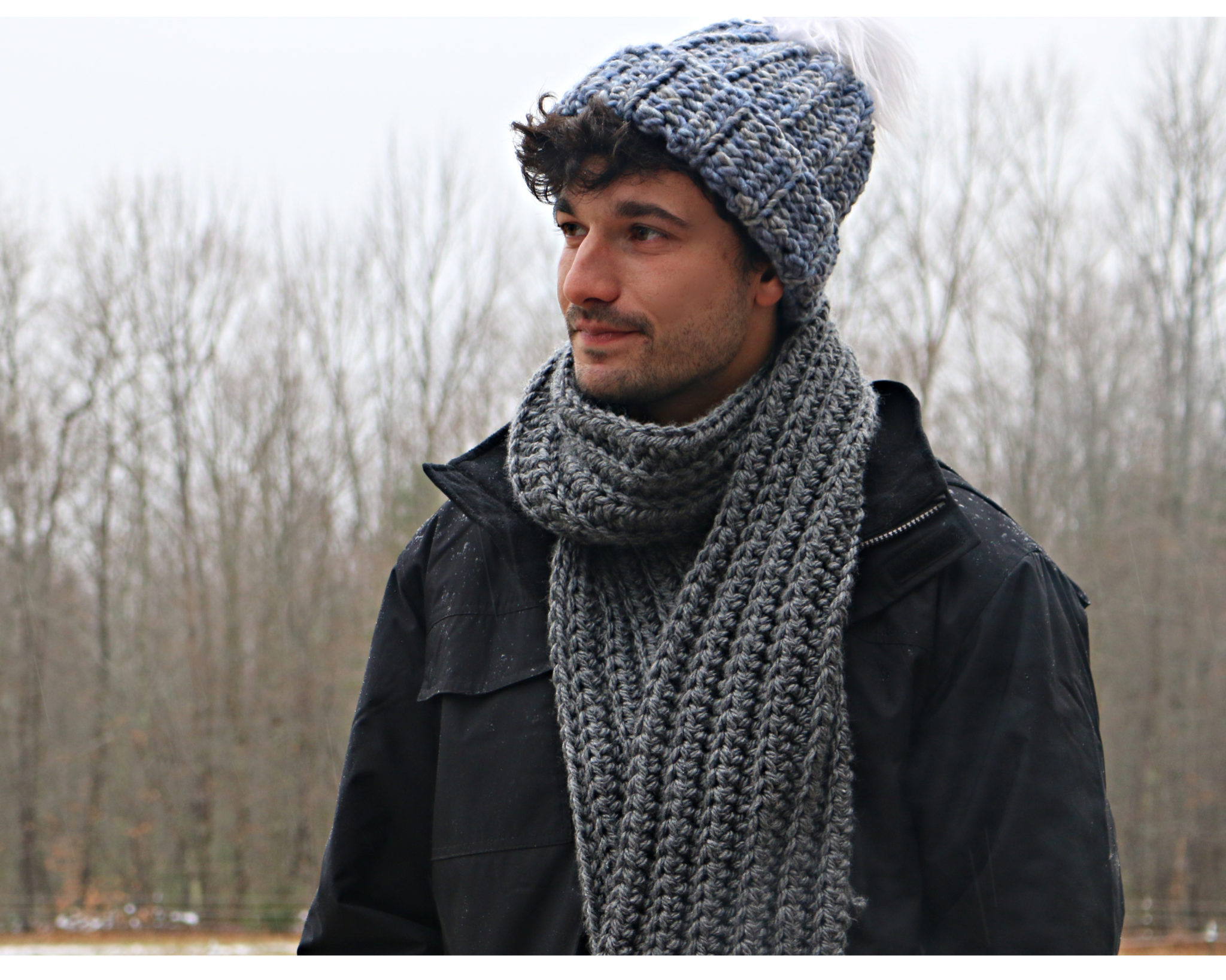 The Easiest Scarf Ever Pattern
